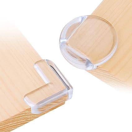 Protections de coins de table et meubles Pour enfants Avec adh/ésif puissant Non toxiques 2 m
