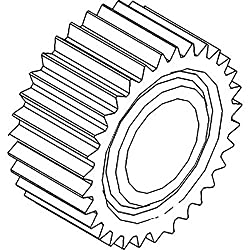 R59696 New Pinion Gear For John Deere Tractor 4255