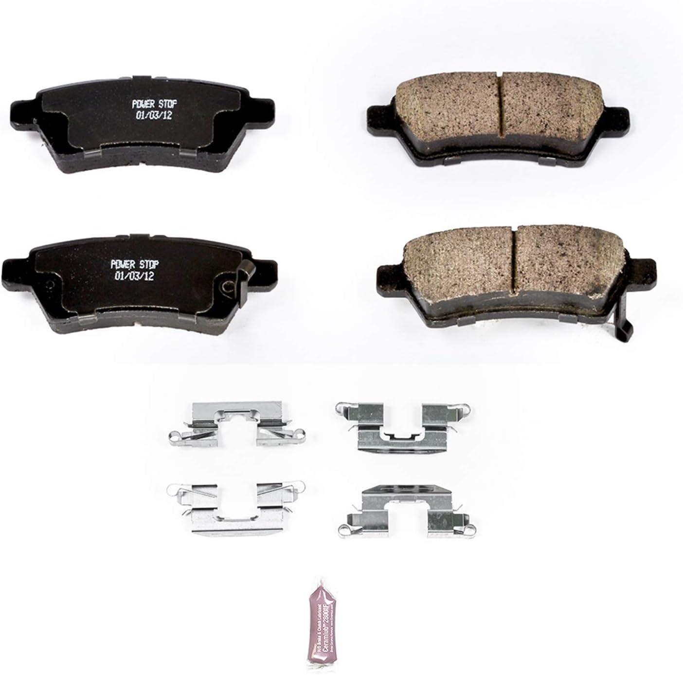 Disc Brake Pad Set-Z17 Evolution Plus Disc Brake Pad Rear Power Stop 17-1612