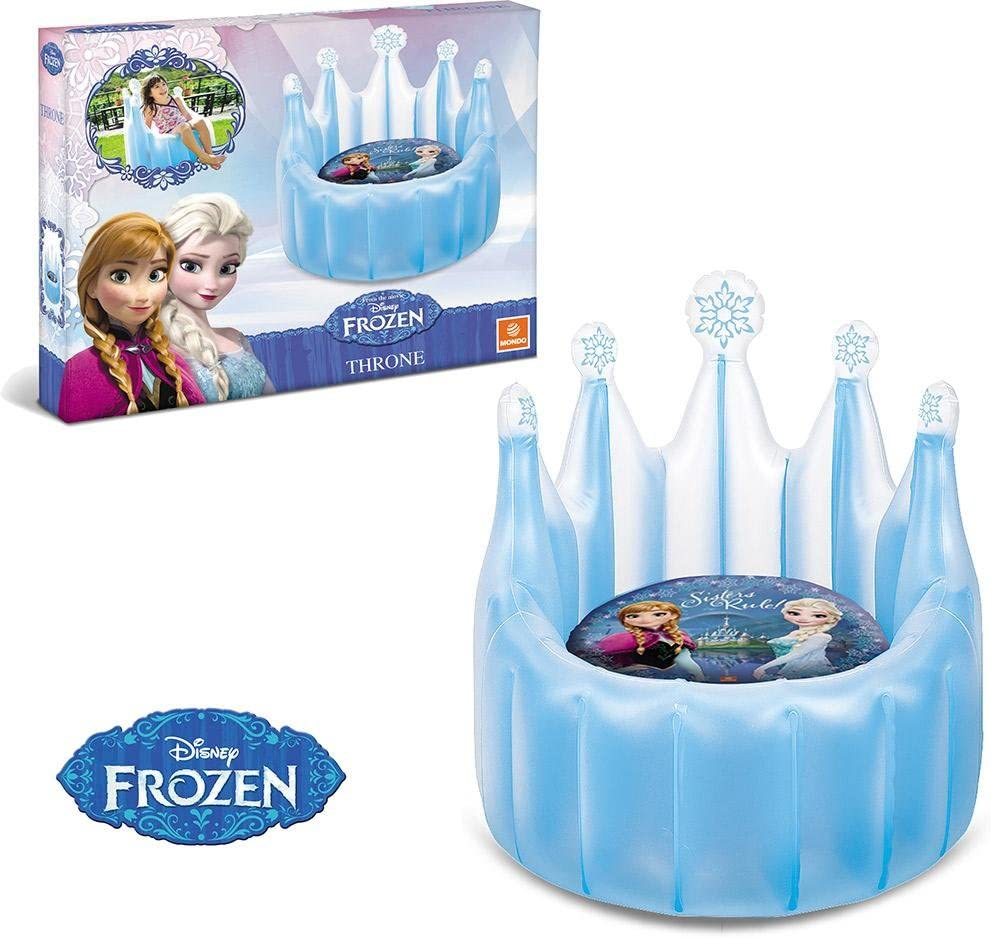 Siege hinchable Frozen Frozen trono 2 en 1- 62 x 62 x 82 cm ...