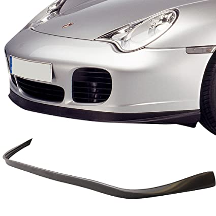 Amazon.com: Front Bumper Lip Fits 2001-2005 Porsche 996 911 | OE Style Black PU Front Lip Finisher Under Chin Spoiler Add On by IKON MOTORSPORTS | 2002 ...