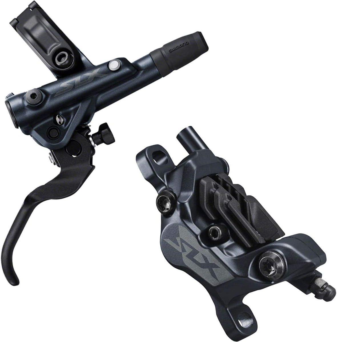 Black SHIMANO SLX M7100 M7120 Disc Brake and Lever Post Mount Hydraulic 2-Piston