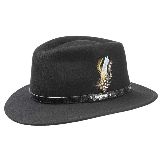 a7b6478d1c8 Stetson Biscoe VitaFelt Traveller Hat Men