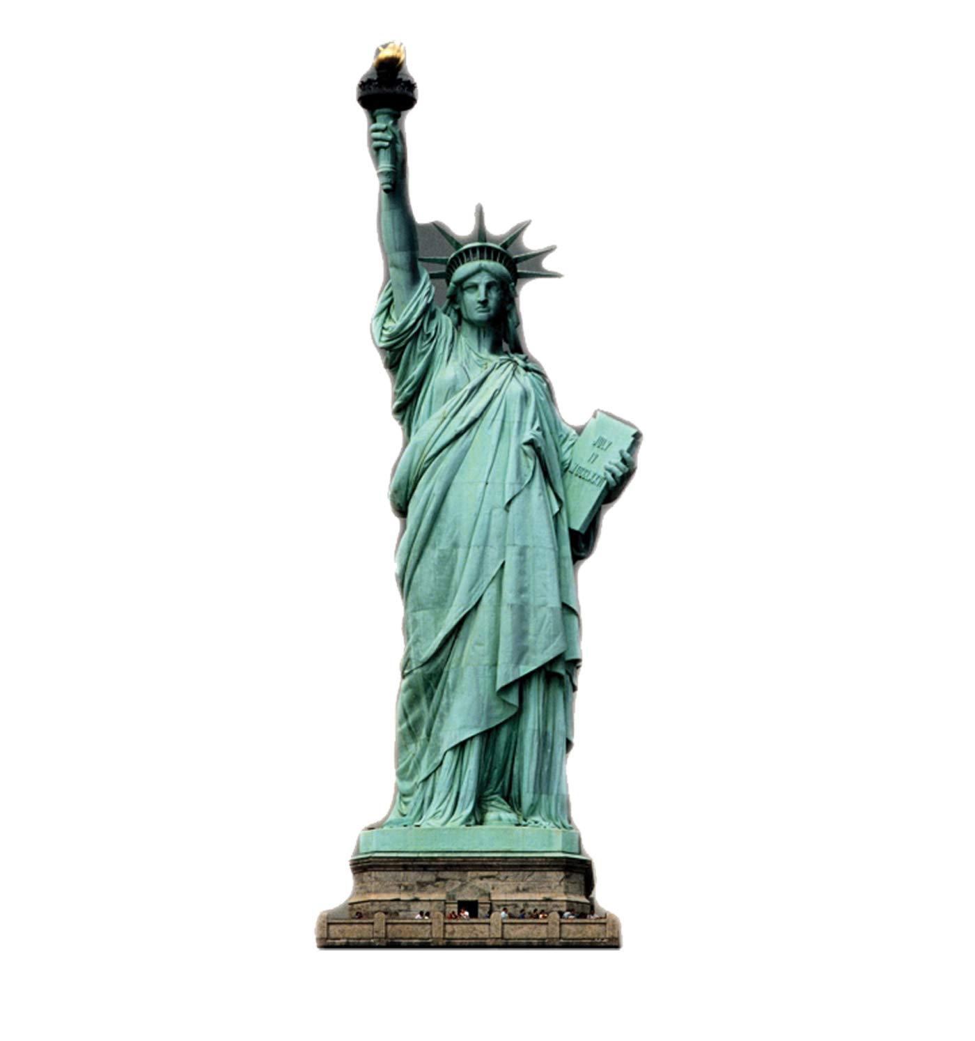 Advanced Graphics Statue of Liberty Life Size Cardboard Cutout Standup by Cardboard People