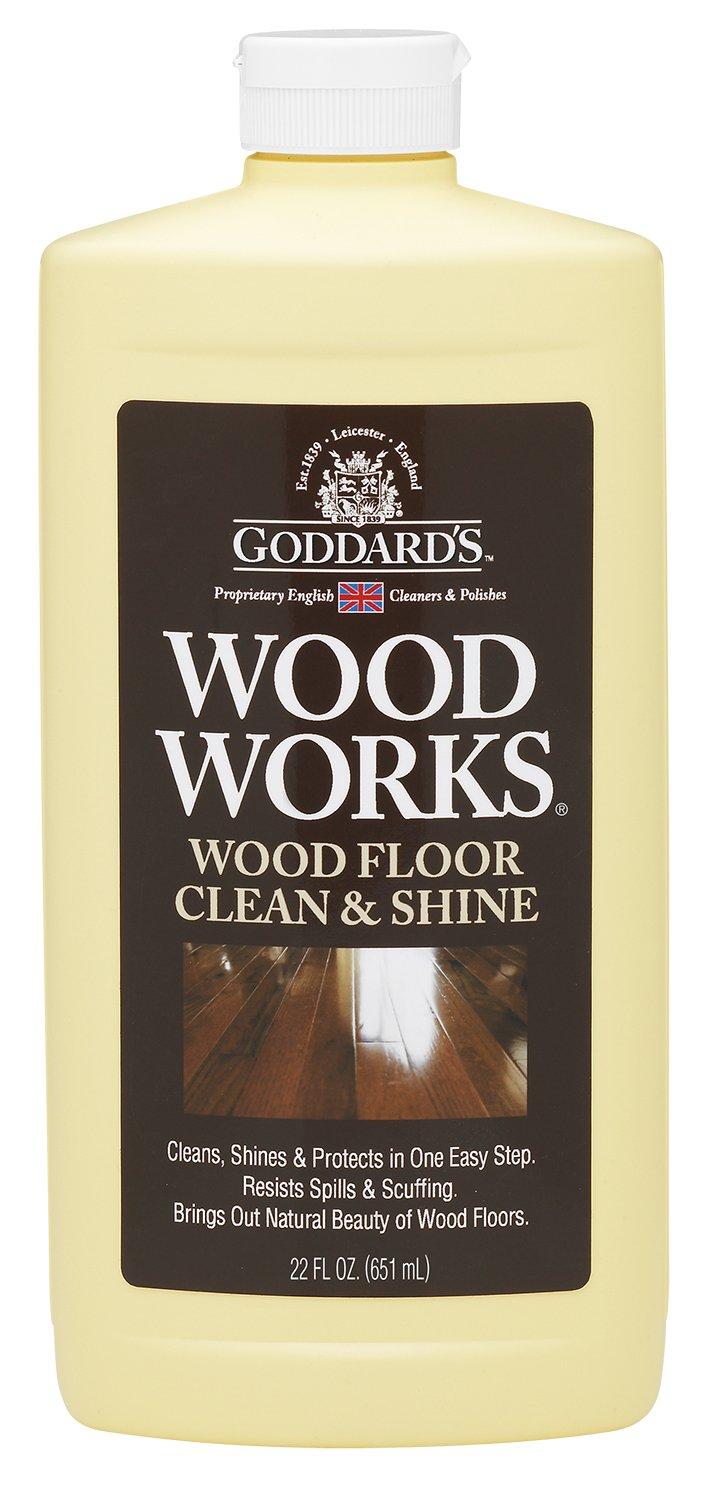 Goddard's Wood Works Floor Clean and Shine – 651 ml.