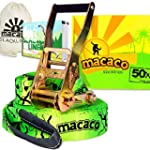 Macaco Slackline - 16m Long, 50mm Wid...