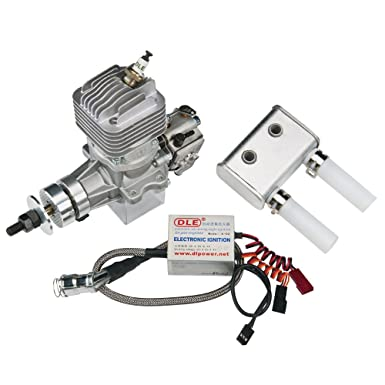 Amazon Com Dle Engines Dle 20ra 20cc Electronically Ignited Rear