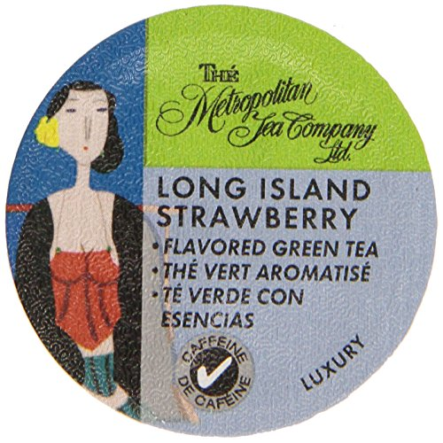 Long Island Strawberry Tea K Cups   24 Count