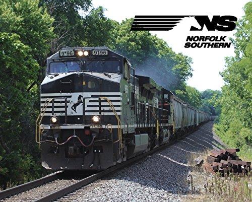Conrail Dash - Norfolk Southern Dash 9-44CW Train 8