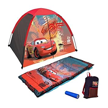 Disney Pixar CARS 2 Four Piece Fun C& Kit  sc 1 st  Amazon.com & Amazon.com: Disney Pixar CARS 2 Four Piece Fun Camp Kit: Home ...