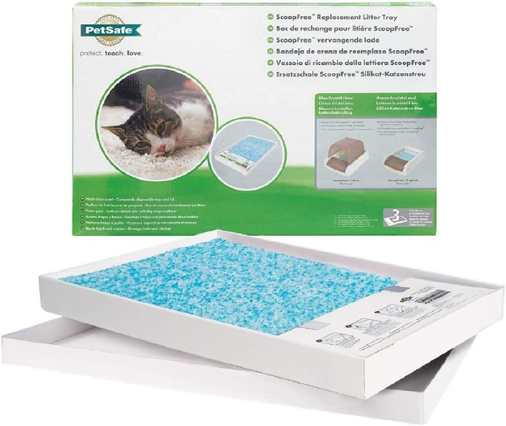 ScoopFree Litter Tray Refills with Premium Blue Crystals
