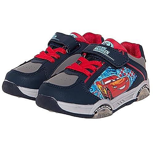 Cars Zapatos 3 Luces LED con Niño 24 25 26 27 28 29 30 32 33 34 Disney Pixer Invierno 2019: Amazon.es: Zapatos y complementos