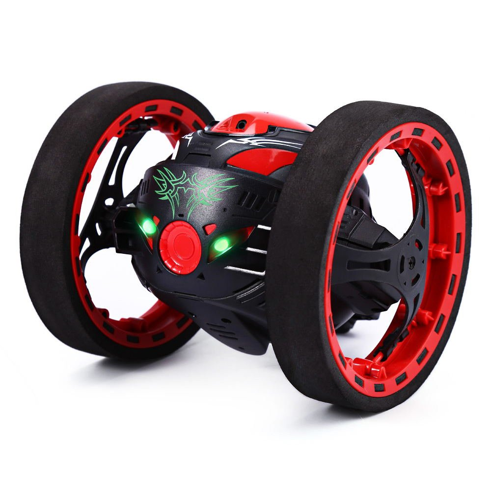 i simply love the shape of this rc car its just perfect and really unique what will make kids really go crazy for this toy is its ability to jump
