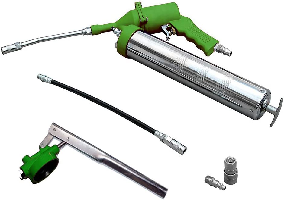 Vetrineinrete/® Ingrassatore ad aria compressa pneumatico e manuale pompa ingrassatrice pistola per grasso auto C27