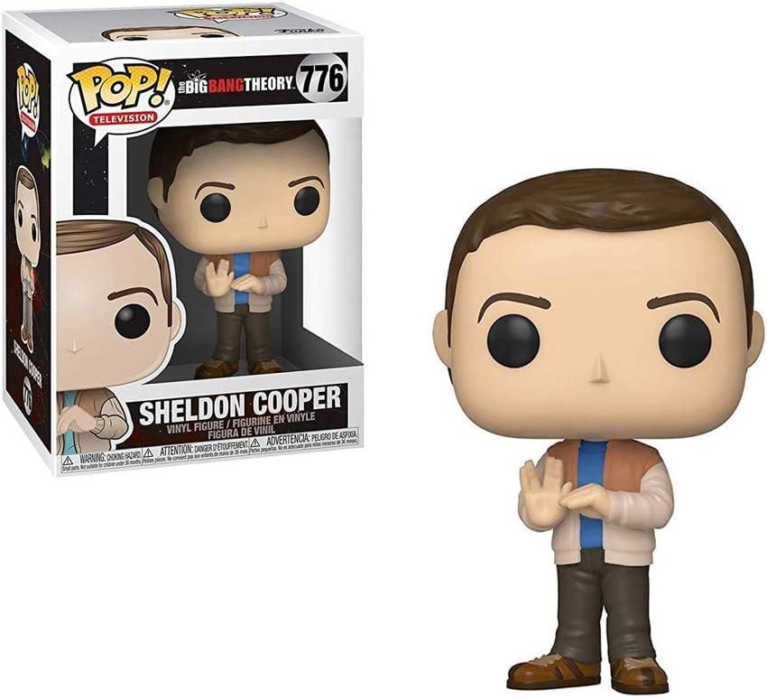 Big Bang Theory-Sheldon Collectible Figure Funko 38580 POP TV Multicolor