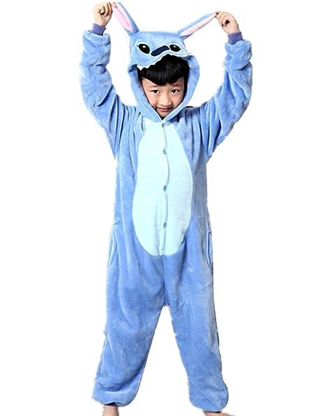 255b4106a7 Wealsex Pigiama Intero Bambina Unicorno Bambini Ragazzi Unisex Cosplay  Animale Pasqua Halloween Tuta Intera Regalo: Amazon.it: Abbigliamento