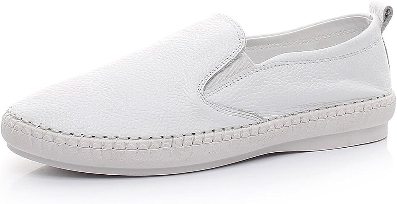 Jamron Women's Soft Leather Slip-on
