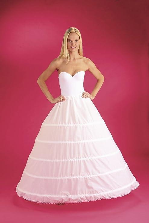 5 Bone Hoop Skirt Bridal Renaissance Civil War Skirt Slip (CH150DS ...
