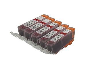 【クリックで詳細表示】【Ecolink】Canon キヤノン BCI-326M マゼンタ 単品5個セット ICチップ付き BCI-326+325/6MP & BCI-326+325/5MP 対応 互換インクカートリッジ