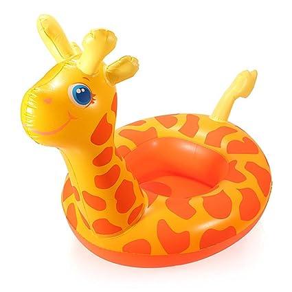 King DO WAY profesional bebé jirafa de para aprender a nadar flotador bebé barco sillón inflable
