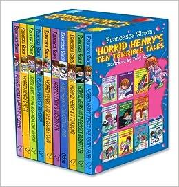 Horrid Henry's Ten Terrible Tales Box Set (Horrid Henry) by Francesca Simon