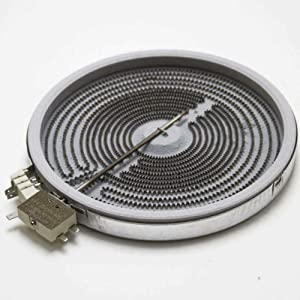 Primeco 316555800 Stove Element Compatible For Whirlpool Oven made by OEM Parts Manufacturer 316224300, 316418400, 316418401, 318198932-1 YEAR WARRANTY