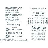 デリカD:5 ステンシルコーションレターセット