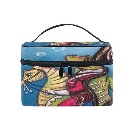Bolsa de Aseo Colgante con diseño de caballitos de mar de ...