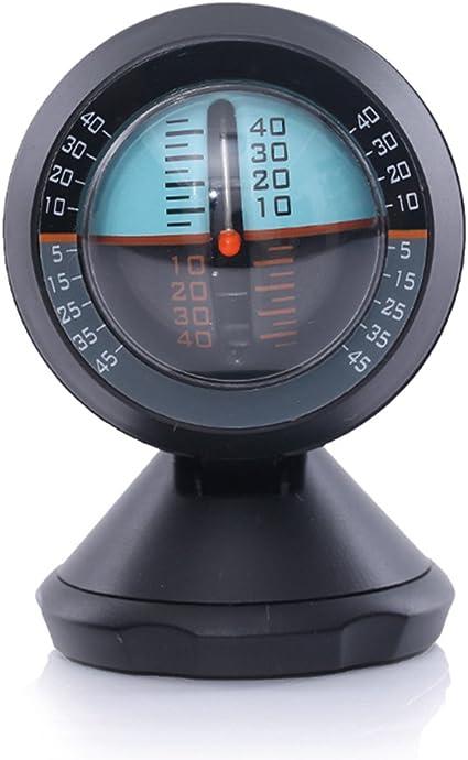 Inclinómetro para coche, indica el nivel de inclinación, ideal ...