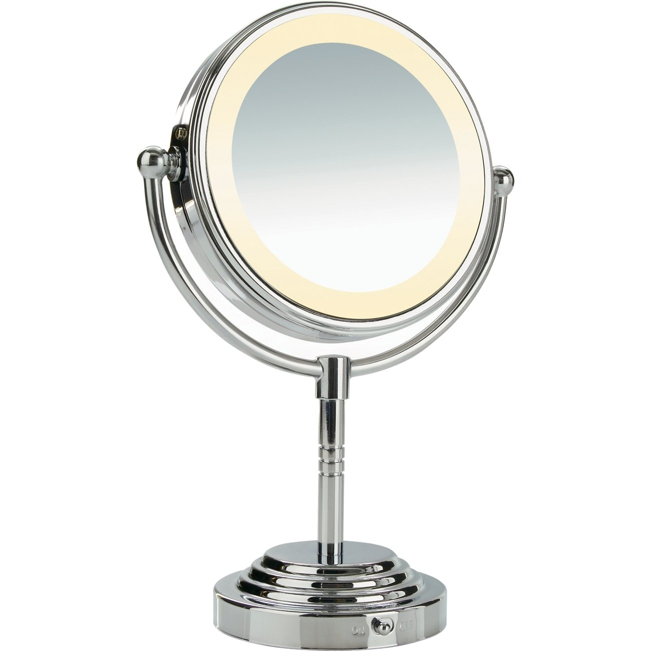 Conair Lighted Vanity Mirror Amazon com Conair Round Shaped Double Sided  Battery  Conair Lighted Vanity. Lighted Makeup Mirror Ulta