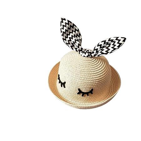 87480857fb7 MSYOU Summer Sun Hat Children Girl Boy Unisex Cute Bear Foldable Straw  Bucket Bush Hat for Outdoor Beach Walking(Light Pink)  Amazon.co.uk   Kitchen   Home