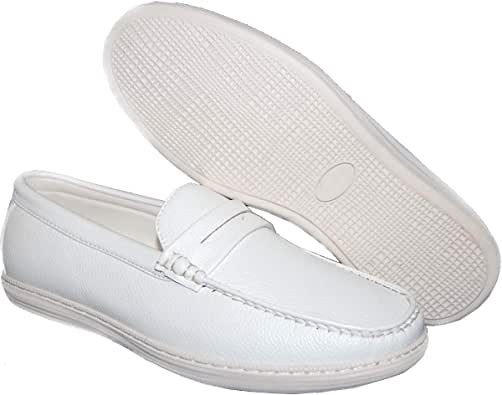 10View All White Penny Loafers Gif