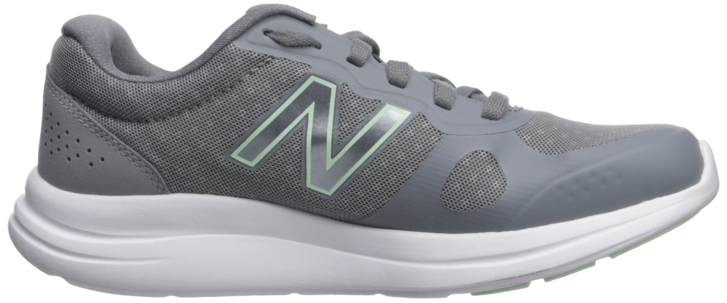 New Balance Women's Versi V1 Running Shoe B0751SMJ38 6 B(M) US|Steel
