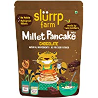 Slurrp Farm Millet Pancake Mix: Chocolate and Supergrains, Chocolate and Supergrains, 150 g