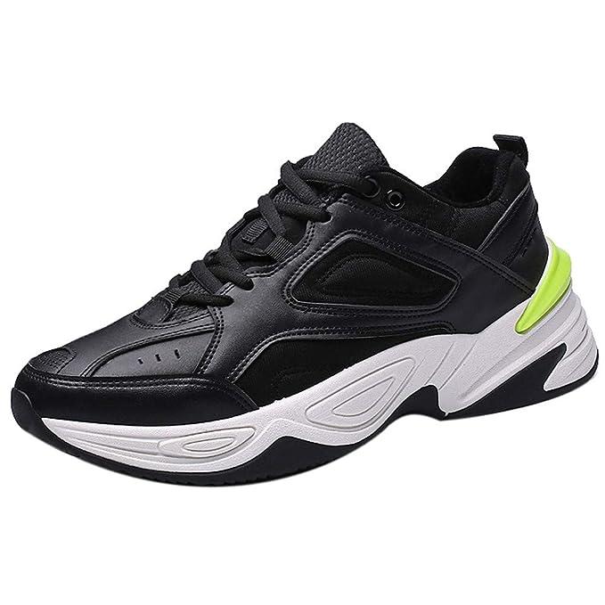 JiaMeng para Caminar, Zapatos De Running Deportivas para Correr Hombre Ocio Aire Libre Y Deporte Zapatillas Deportivas para Caminar al Aire Libre Zapatos ...