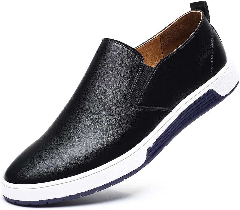 Santimon Men's Slip on Loafers British