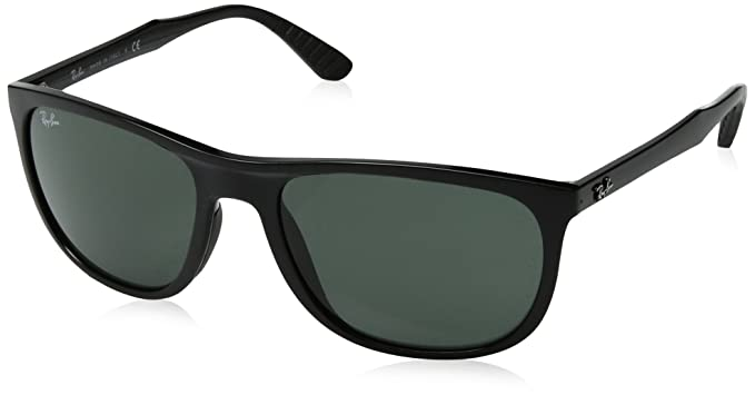 e3b577a824 Amazon.com  Ray-Ban Men s Injected Man Sunglass Square