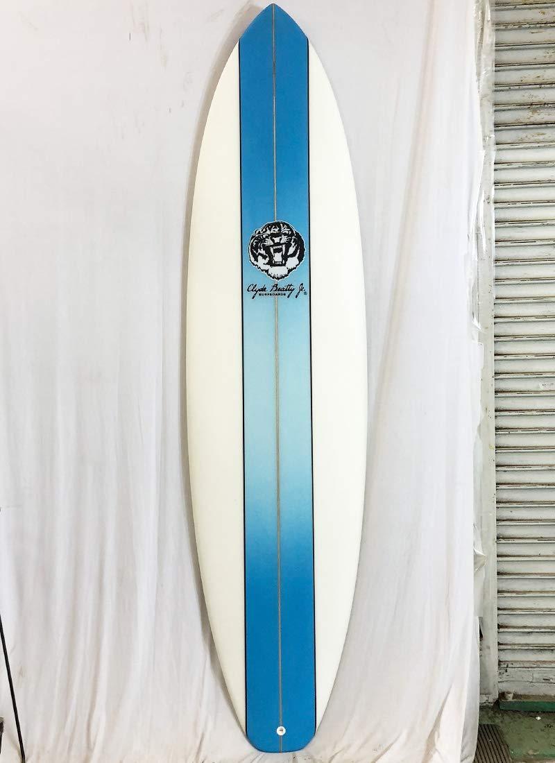 Clyde Beatty Jr(クライドビーティージュニア)サーフボード [clear/Blue] 7'2