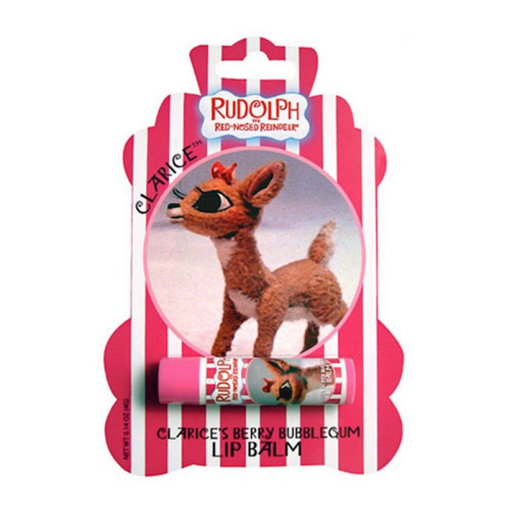 """""""RUDOLPH THE RED-NOSED REINDEER"""" LIP BALM LIMITED EDITION """"CLARICE'S BERRY BUBBLE GUM'"""