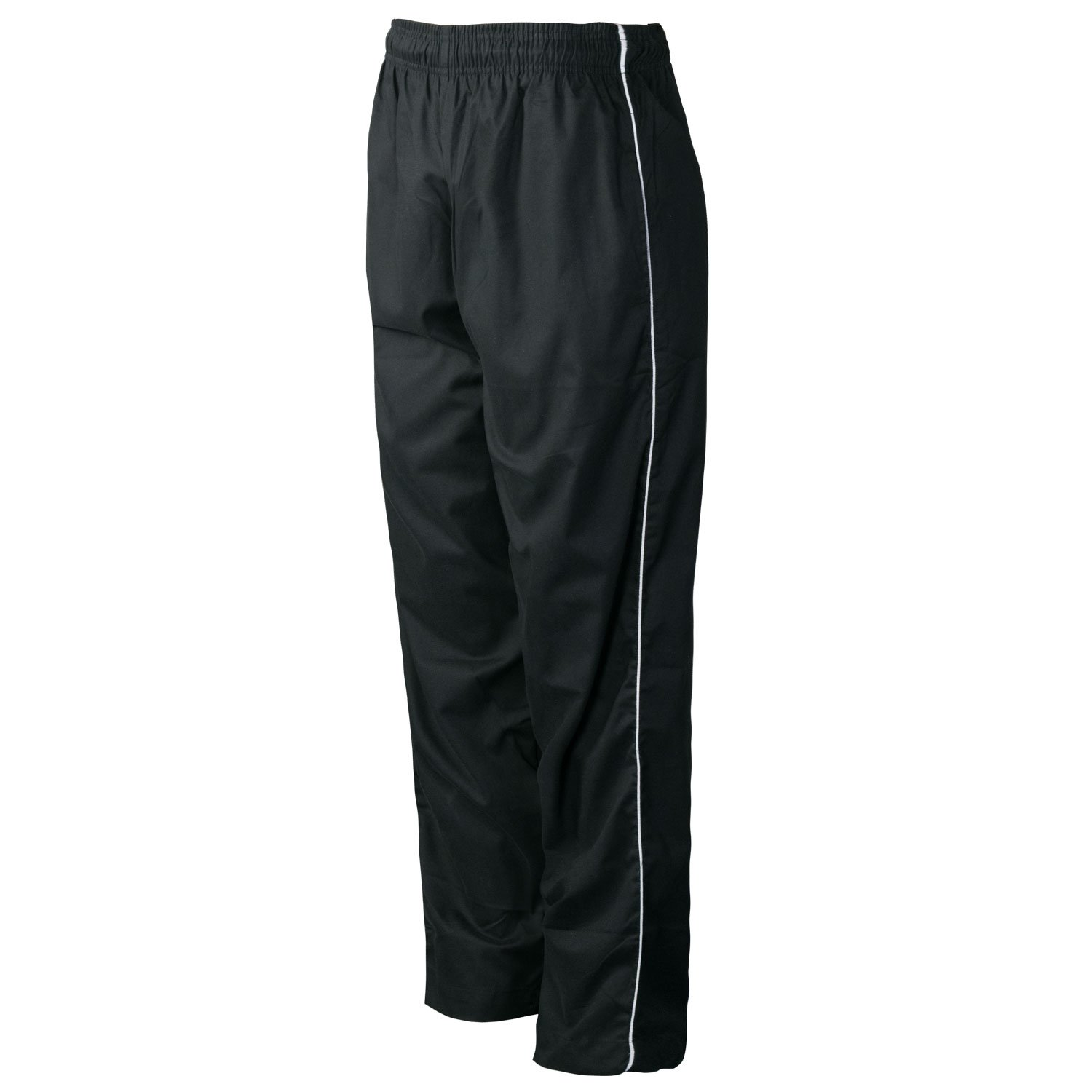 CHEF CODE Chef Pants, Classic Baggy with Elastic Waist and Drawstring CC253 (2XL, Black) by Chef Code