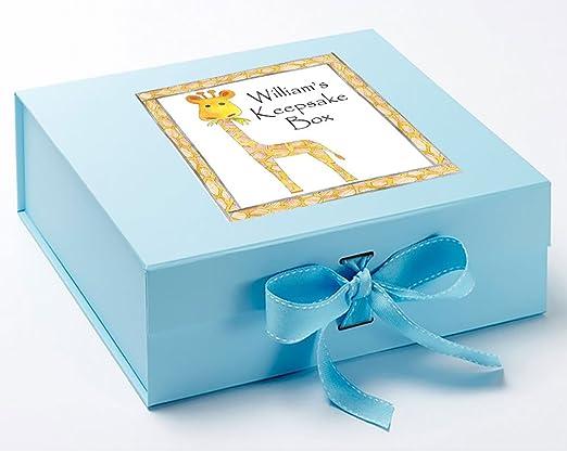 Caja de recuerdos para bebé, Memory Box, jirafa, Memory Box caja ...