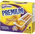 Kraft, Handi Snacks, Premium Breadsticks N Cheese, 6.54oz Box (Pack of 4)