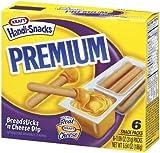 kraft cheese sticks - Kraft, Handi Snacks, Premium Breadsticks N Cheese, 6.54oz Box (Pack of 4)