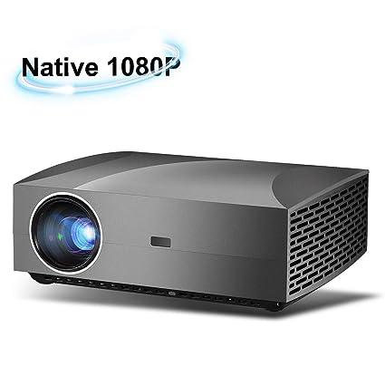 Amazon.com: Proyector nativo de 1080p HD, brillo 800 ANSI ...