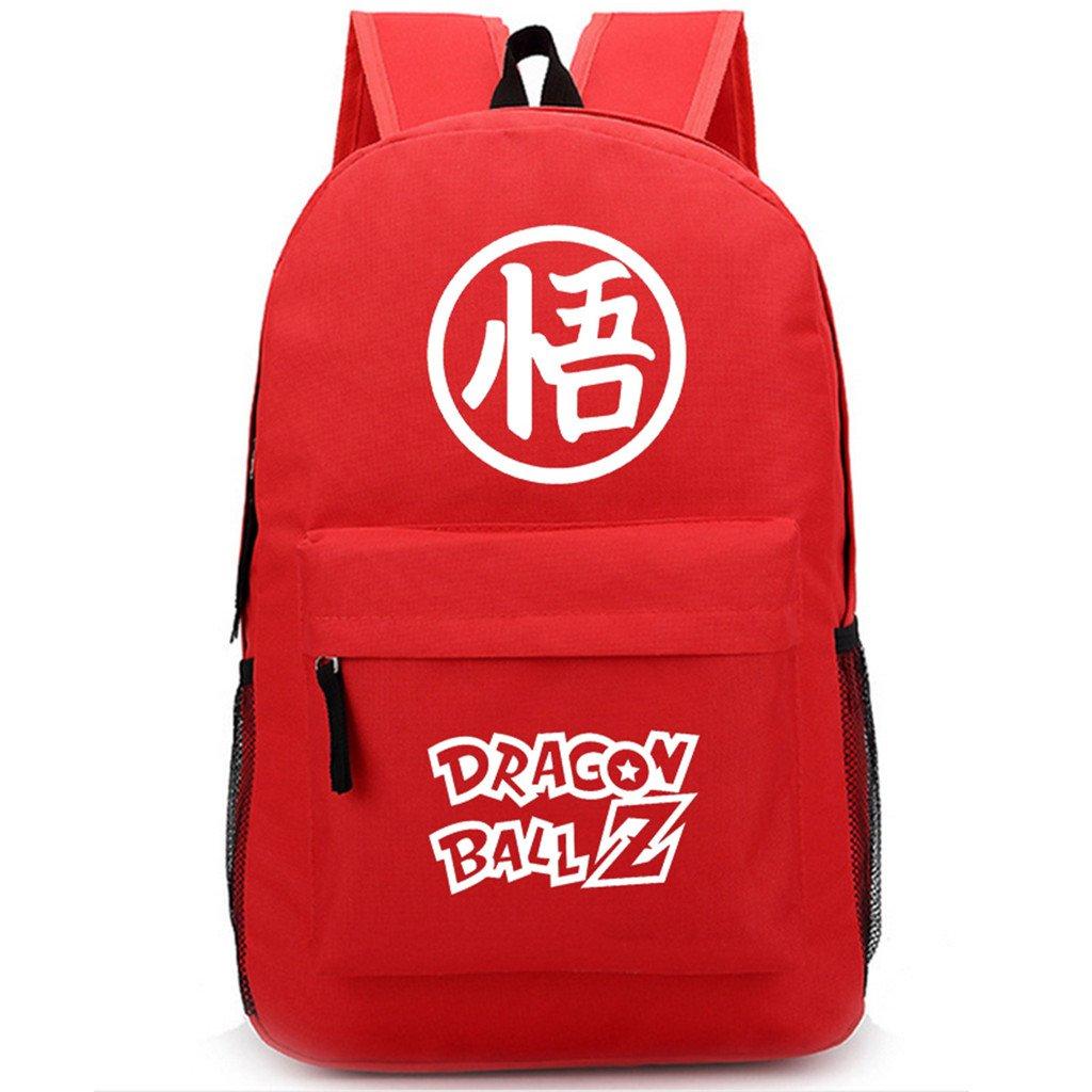 SiawaseyドラゴンボールZアニメGokuコスプレバックパックデイパックブックバッグラップトップバッグスクールバッグ   B07DGD7XFT