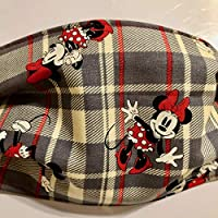 Minnie & Mickey Face Covers 2 OR 3 LAYER -ADULT