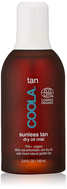 COOLA Organic Sunless Tan Body Dry Oil | Moisturizing | Antioxidant Enriched | Gradual Tan | Pina Colada