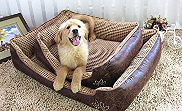 Cama para perro de World 9.99 Mall, cama suave para mascotas, cueva para gatos y perros pequeños y medianos almohada extraíble: Amazon.es: Productos para ...