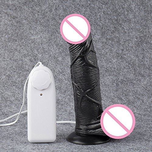 FANGMING 2016 Newest Silicone Realistic Dildo 7'' Big Dildo Vibrator Strapon Penis Suction Cup Double Vibrators Sex Toys for Woman