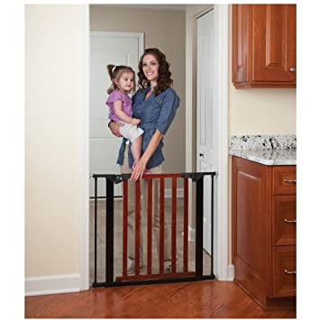 Amazon Com Kidco Designer Gateway Pressure Mounted Gate Cherry